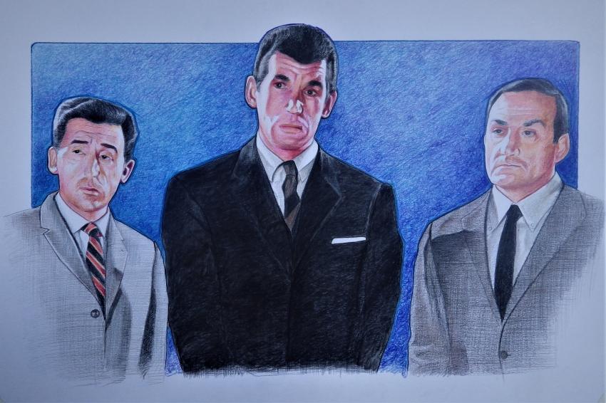 Jean Lefebvre, Lino Ventura, Michel Constantin por stephane014
